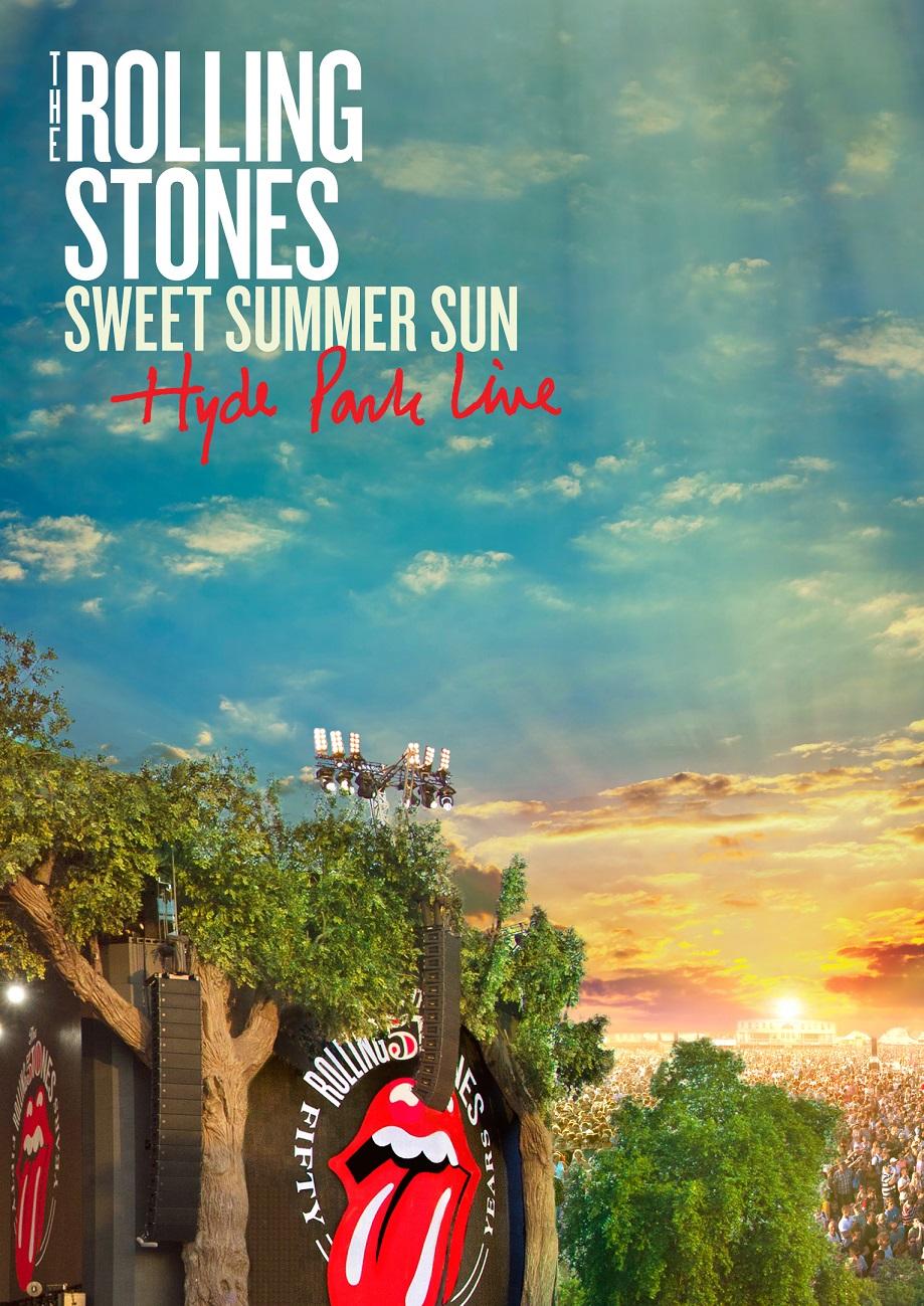 ザ・ローリング・ストーンズ、 ライヴ・フィルム『スウィート・サマー・サン ストーンズ・ライヴ・イン・ロンドン・ハイド・パーク 2013』一夜限りのライヴ絶響上映