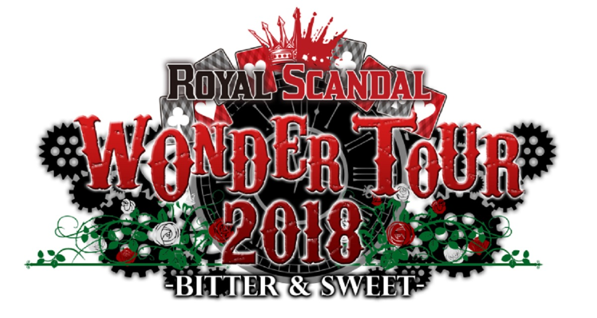 Royal Scandal(Luz/奏音69)・歌人【ウタビト】:しゅーず│Royal Scandal WONDER TOUR 2018 -BITTER & SWEET